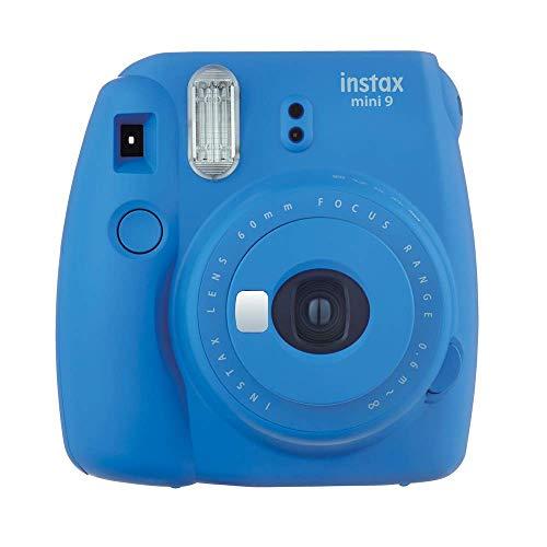 Câmera Instantânea Instax Mini 9, Fujifilm, Azul Cobalto