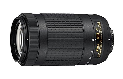 Nikon Lente AF-P DX NIKKOR 70-300mm f/4.5-6.3G ED VR para câmeras Nikon DSLR