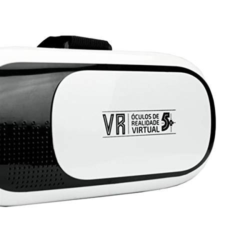 Óculos de Realidade Virtual, Santana Centro, 3D, Branco
