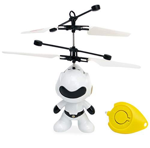 Mini Drone Brinquedo Robo Voador Infravermelho Voa Verdade MEGA COMPRAS
