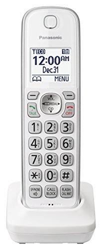 PANASONIC Telefone sem fio adicional para uso com sistemas de telefone sem fio da série KX-TGD53x - KX-TGDA50W1 (branco)