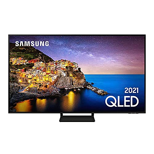 "Smart TV 4K QLED 55"" Samsung - Wi-Fi Bluetooth HDR 4 HDMI 2 USB"