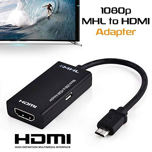 Adaptador Micro USB para HDMI MHL Heaven2017, Micro USB para HDMI, conversor adaptador HDMI 1080p para Android Samsung Huawei