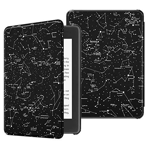 Capa para Kindle Paperwhite (aparelho à prova d`água) - rígida - sistema de hibernação - Constelações