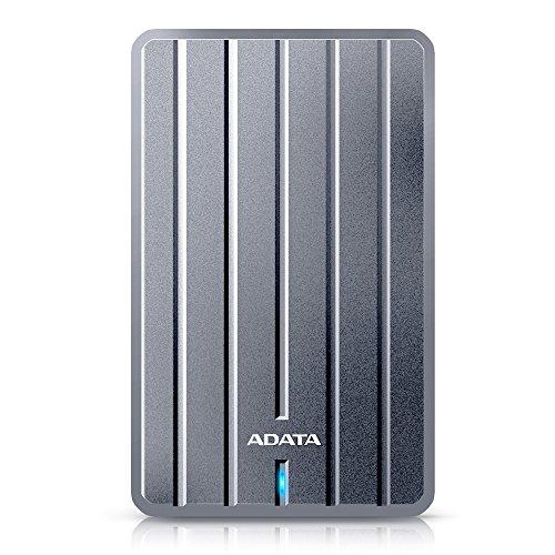 HD Externo Adata HC660 Ultra Slim, 2TB, USB 3.2, Cinza