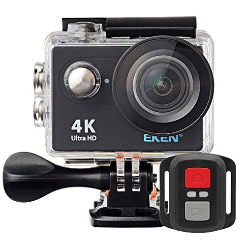 Câmera Filmadora Eken H9R Full HD 4K 12MP, Tela LCD 2