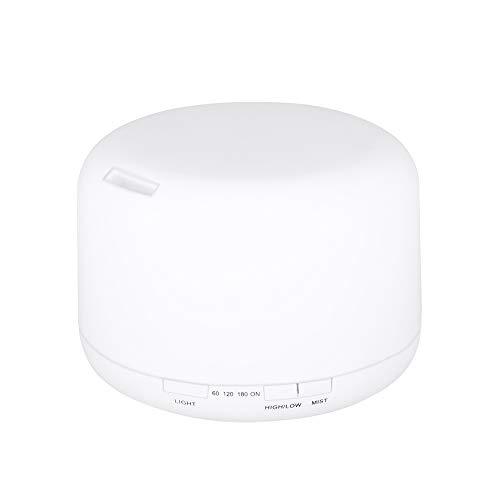 Honelife Controle remoto 500 ml Ultrasonics Umidificador de Ar Aroma Difusor de Óleo Com 7 Cores LEDs Night Light Uso Doméstico Aromaterapia Elétrica para Escritório Em Casa Spa Yoga Relax