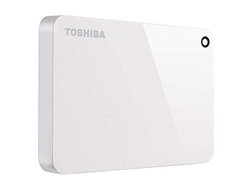 HD Externo Portátil Toshiba Canvio Advance 2TB Branco USB 3.0 - HDTC920XW3AA
