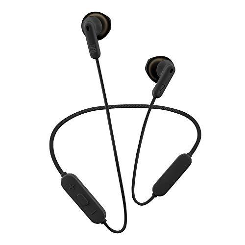 Fone de ouvido bluetooth in ear, JBL, JBLT215BTBLK, preto, pequeno