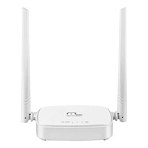 Roteador Wireless 300Mpbs Ipv6 2.4Ghz com 2 Antenas 5dBi RE160V, Multilaser, Roteadores, Branco