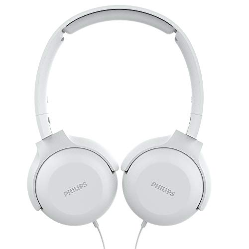 Fone de Ouvido Philips com Microfone - TAUH201WT/00, Branco