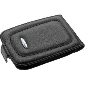 Capa de couro preta OEM para BlackBerry 7780 7730 7750