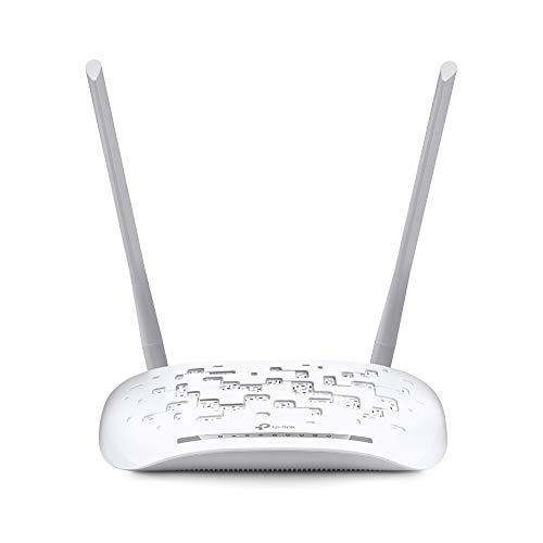 Modem Roteador Wireless N ADSL2+ de 300Mbps, TP-Link, TD-W8961N