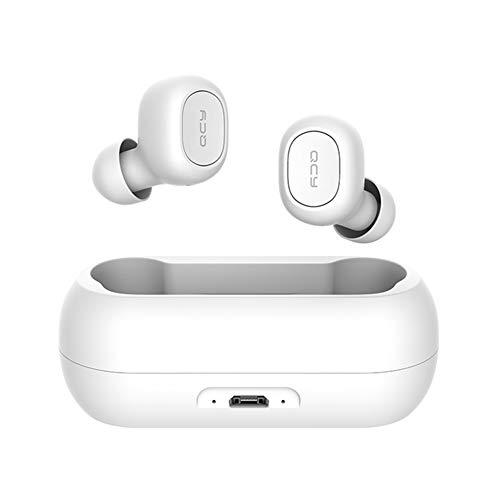 Fone De Ouvido Sem Fio Com Bluetooth QCY T1C (Branco)