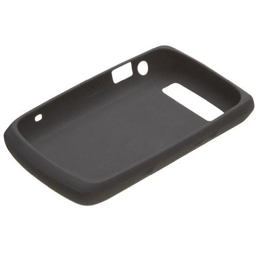 Capa de Silicone Preta para Blackberry Bold 9700