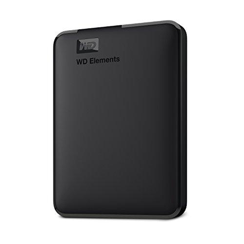 Disco rígido externo portátil WD 4TB WD, USB 3.0 - WDBU6Y0040BBK-WESN