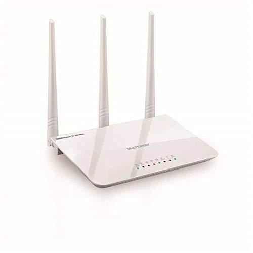 Roteador Três Antenas Branco Ipv6 300 Mbps - Multilaser - RE163V, Multilaser, Roteadores, Branco