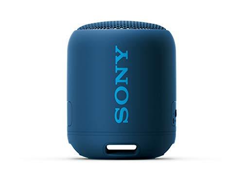 Caixa de Som Bluetooth Sony SRS-XB12 Entrada Auxiliar P2 - Azul