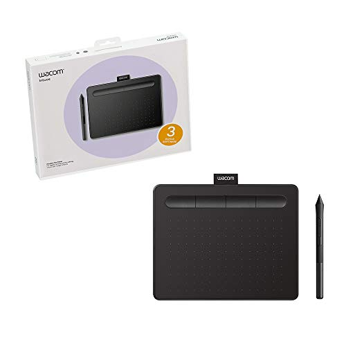 Wacom CTL4100 - Mesa Digitalizadora Intuos Creative, Preto