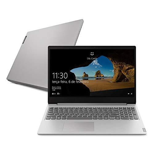 Notebook Lenovo Ultrafino ideapad S145 i7-1065G7, 8GB 256GB SSD Placa de Vídeo Intel® Iris Plus Windows 10 15.6