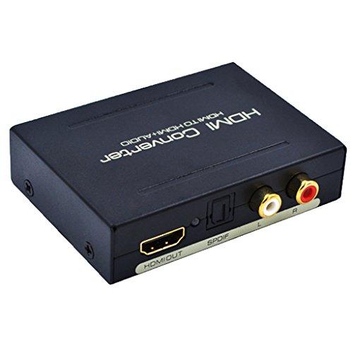 gazechimp Hdmi Audio Extractor Optical Splitter Spdif Rca L/R Audio Tools