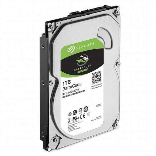 HD Interno, Barracuda Compute HDD 3.5, 1TB, ST1000DM010, Seagate, HD interno, Prata