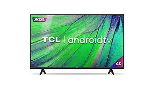 """Smart TV Android LED 50"""" 4K UHD TCL 50P615, 3 HDMI, 2 USB, Wi-Fi, Bluetooth e Controle Remoto com Comando por controle de Voz e Google Assistant"""