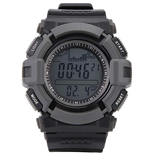 Barômetro de pesca, Profissional Digital Ao Ar Livre Relógio de Pesca Altímetro Termômetro Relógio Relógio