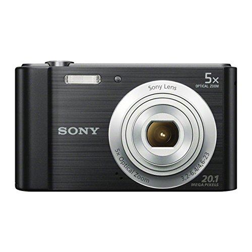 Câmera Digital Sony Cyber-Shot DSC-W800 Preta