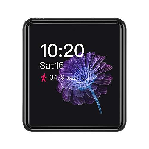 FiiO M5 AK4377 32bit /384kHz DAC chip Hi-Res Bluetooth Touch Screen MP3 Player de música com aptX/aptX HD/LDAC, USB áudio/DAC, suporta chamadas e gravações de som, Preto
