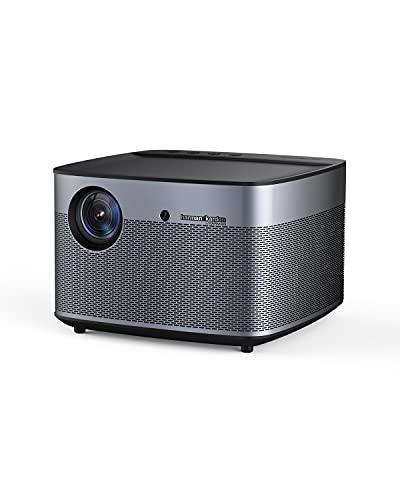 Projetor inteligente XGIMI H2 4K 1080p HD WiFi Bluetooth Harman/Kardon alto-falantes, sistema home video theater, 1350 ANSI lm, 30.000 horas de vida útil da lâmpada LED, projetor de TV de imagem de 300 polegadas, funciona com Netflix