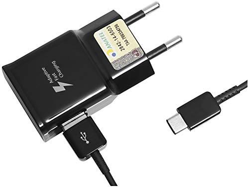 Carregador de Viagem Samsung Bivolt Preto USB Ultra Rápido