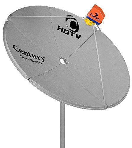 Antena Parabólica Chapa Fechada Banda C - 150 Cm Digimaster - Century