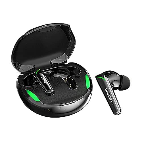 Fones de ouvido Lenovo XT92 TWS Bluetooth com caixa de carregamento BT5.1 Stereo Touch Control Fones de ouvido intra-auriculares sem fio com microfone para jogos e esportes em execução