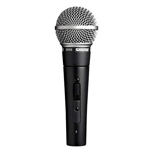 Shure SM58S Microfone de Mão Dinâmico Cardióide para Vocais