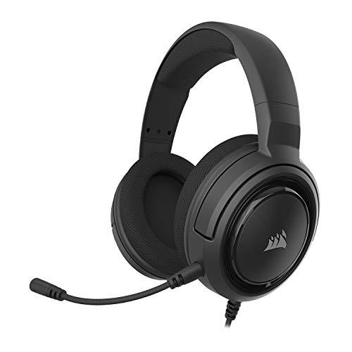 Headset Gamer Corsair HS45 7.1 Virtual Surround Com Adaptador USB - Preto CA-9011220-NA