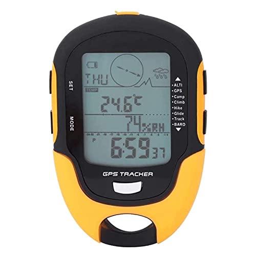 Altímetro digital, altímetro digital, barômetro digital IPX4 à prova d'água, para fãs ao ar livre para caminhadas, acampamento, escalada