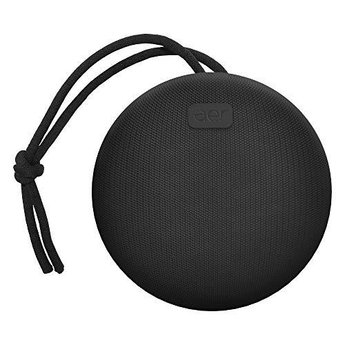 Caixa de som sem fio, Bluetooth, à prova d´água, 5W RMS, AERBOX, Preto, AER by Geonav, AERCX01BK