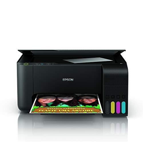 Multifuncional Epson EcoTank L3110 - Tanque de Tinta Colorida, USB, Bivolt
