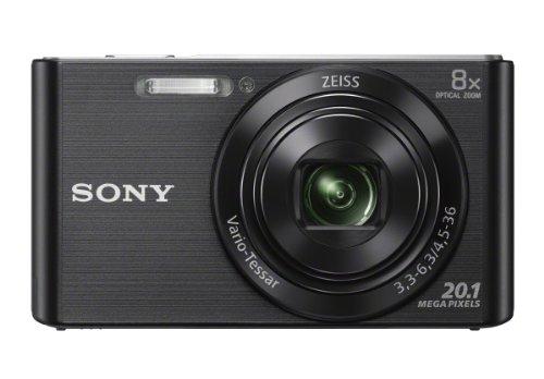 Câmera Sony Dsc- W830 20mp/8x/hd Preta