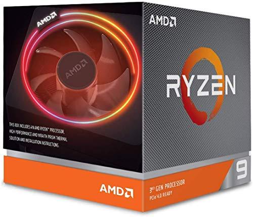 Processador AMD Ryzen 9 3900X Box (AM4 / 12 Cores / 24 Threads / 3.8Ghz / 70MB Cache/Cooler Wraith Prism RGB) - *S/Video Integrado*