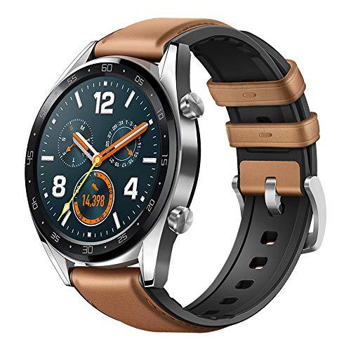 Relógio Smartwatch Huawei GT Leather GPS, Marrom