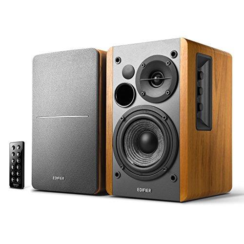 Caixa de Som Bluetooth Edifier R1280DB 42W, Monitor de áudio, Bivolt, Madeira