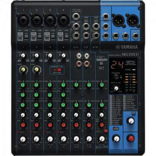 Mesa De Som Analógica 10 Canais Mg10Xu Yamaha, Yamaha, Mg10Xu
